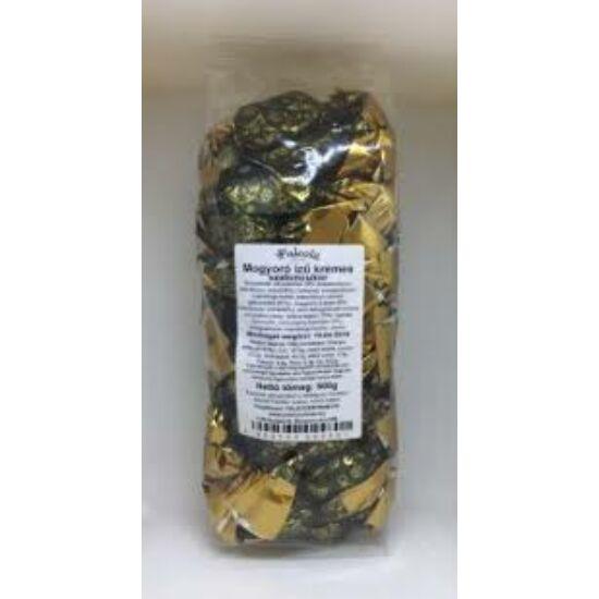 Mogyorós ízű krémes szaloncukor 500g