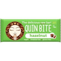 Quin Bite-Bio nyers szelet hazelnut
