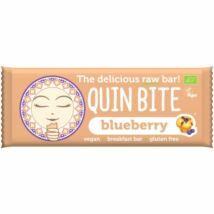 Quin Bite-Bio nyers szelet áfonya