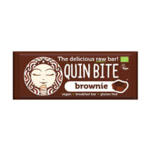 Quin Bite-Bio nyers szelet brownie