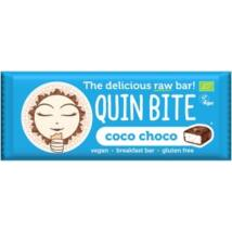 Quin Bite-Bio nyers szelet kókusz-kakaó