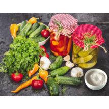 Zöldségek és gyümölcsök fermentáló starter keveréke 12 adag