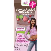 Szafi Reform Csokoládé ízű pudingpor édesítőszerrel (paleo, vegán, glutén- és tejmentes) 70g