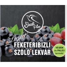 Szafi feketeribizli-szőlő lekvár 350 g