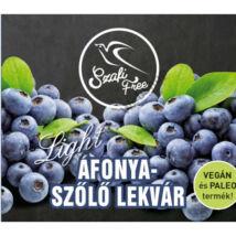 Szafi Free Áfonya-szőlő lekvár light