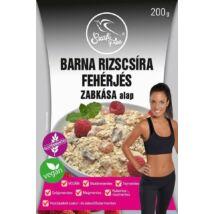Szafi Free Barna rizscsíra fehérjés zabkása alap