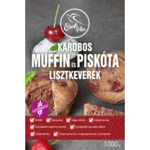 Szafi Free Karobos Muffin és Piskóta lisztkeverék (gluténmentes, tejmentes, tojásmentes, vegán) 1000g