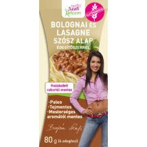 Szafi Reform Bolognai és Lasange szósz alap édesítőszerrel (Gluténmentes, paleo) 80g