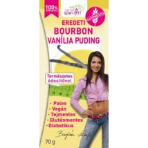 Szafi Reform Bourbon Vaníliás Pudingpor édesítőszerrel (gluténmentes, paleo, vegán) 70g