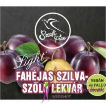 Szafi Free Fahéjas szilva-szőlő lekvár