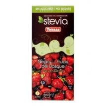 Étcsokoládé erdei gyümölcsös 125g