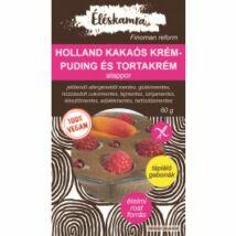 Vegán holland kakaós krémpuding és tortakrém alappor 60 g
