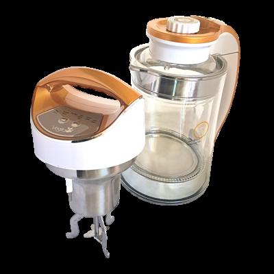 Glass Gold Családi növényi italkészítő automata, darálásmentes főzőfejjel - 1,3 l