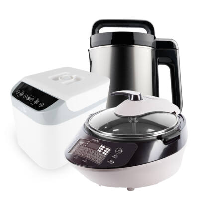 GIGA CSOMAG-Silver digital & White fermenter & Smart Chef