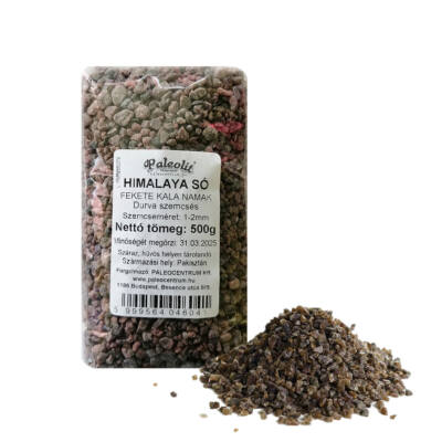Fekete himalaya só durva 500 g