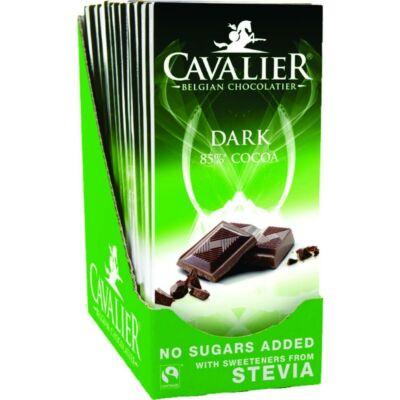 Cavalier téblás étcsokoládé 85g
