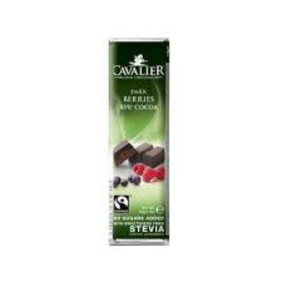 Cavalier szárított bogyós gyümölcsös étcsokokoládé 40g