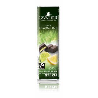 Cavalier citrom-lime töltelékes étcsokoládé 40g