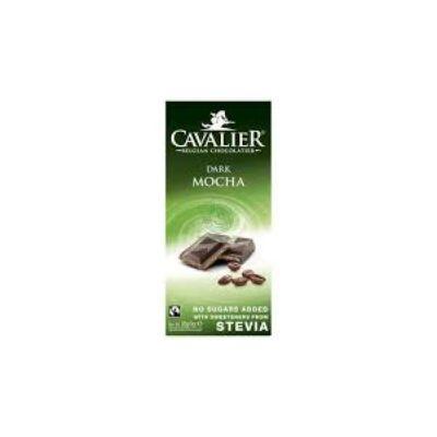 Cavalier táblás kávétöltelékes étcsokoládé 85g