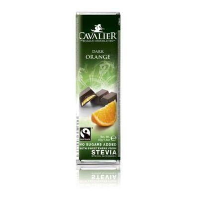 Cavalier narancstöltelékes étcsokoládé 40g