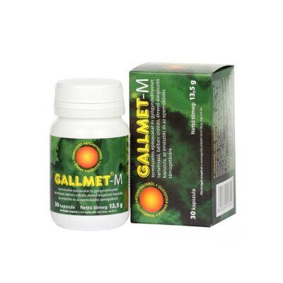 GALLMET-M * 30 db epesav és gyógynövény kapszula