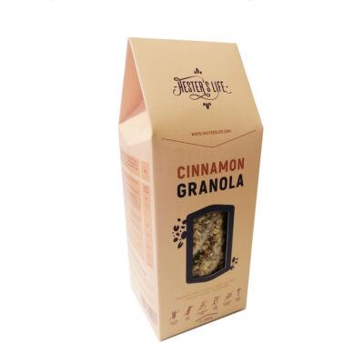 Fahéjas granola