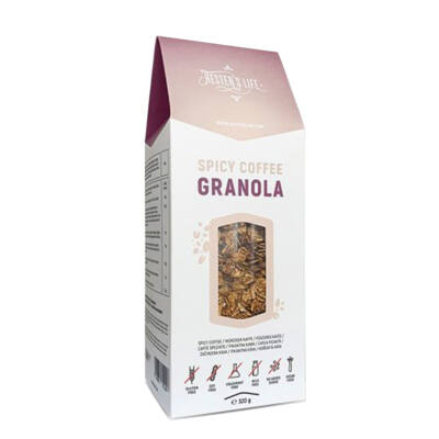 Fűszeres kávés granola