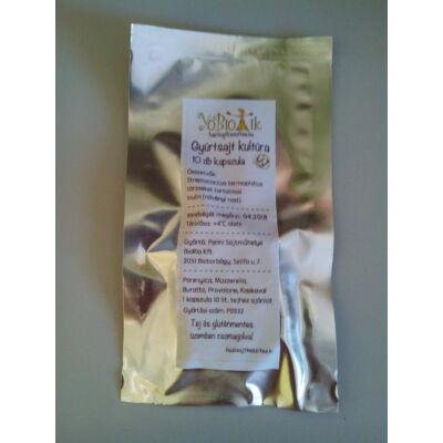 Gyúrtsajt kultúra, parenyica - mozzarella (10 db- os kiszerelés)
