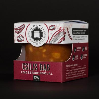 Chilis bab csicseriborsóval