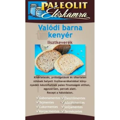 Paleolit éléskamra Valódi barna kenyér lisztkeverék