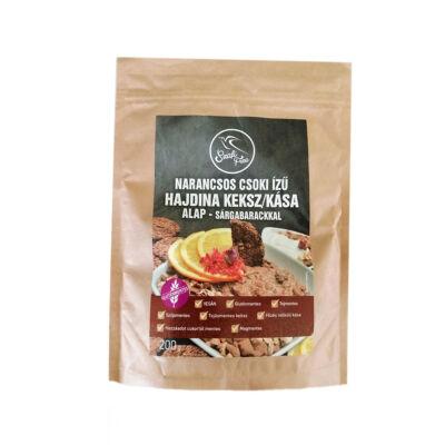 Szafi Free Narancsos csoki ízű hajdina keksz/kása alap-sárgabarackkal 200 g