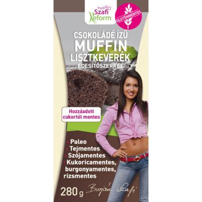 Szafi Reform Étcsokoládé ízű muffin lisztkeverék
