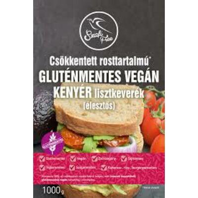 Szafi csökkentett rosttartalmú gluténmentes vegán kenyér lisztkeverék 1000 g