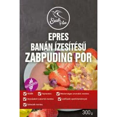 Szafi Free Epres Banános Zabpuding por