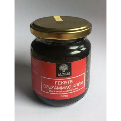 Almitas Fekete szezámmag krém 200g