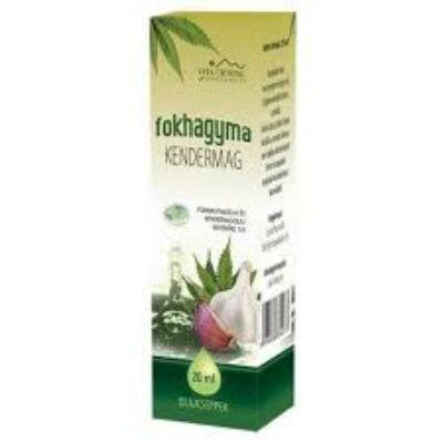 Fokhagymaolaj csepp - Kendermag 20 ml
