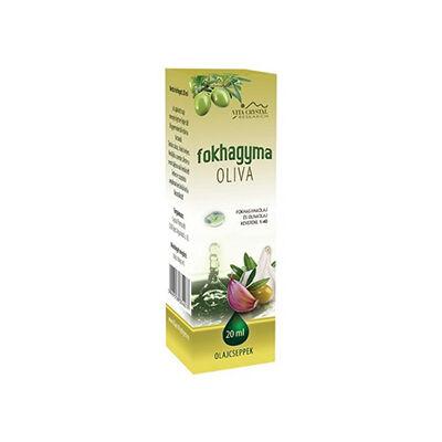 Fokhagymaolaj csepp - Olíva 20 ml