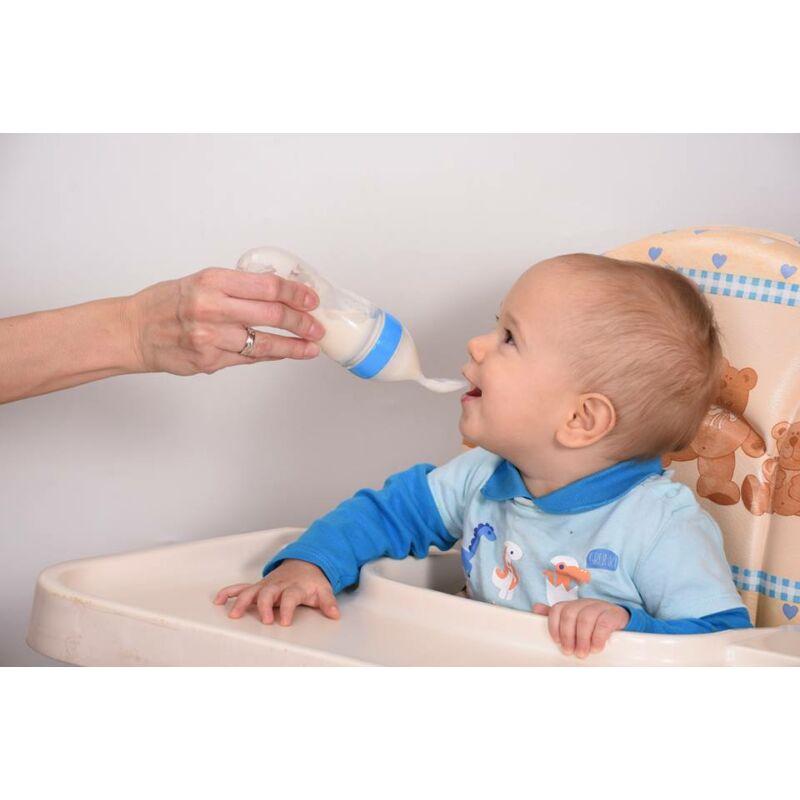 Magic Spoon maszatmentes babaetető kanál- kék