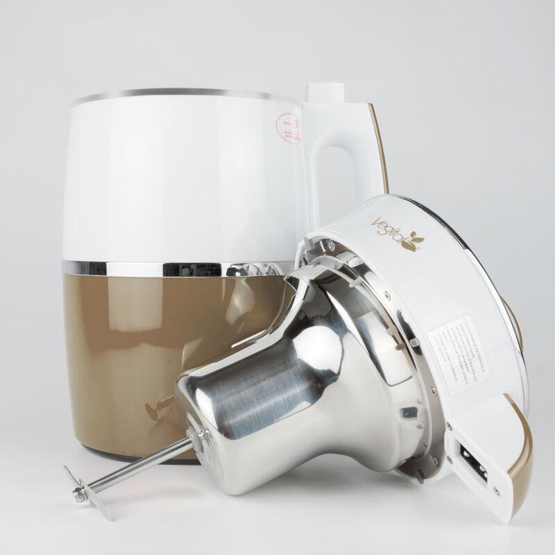 Rainbow Capuccino Növényi italkészítő gép, 1.8 L & White Csomag