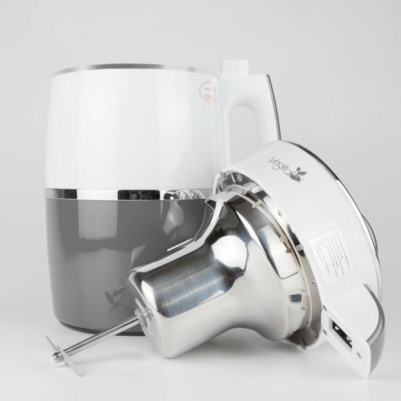 Rainbow Grey Növényi italkészítő gép, 1.8 L & White Csomag