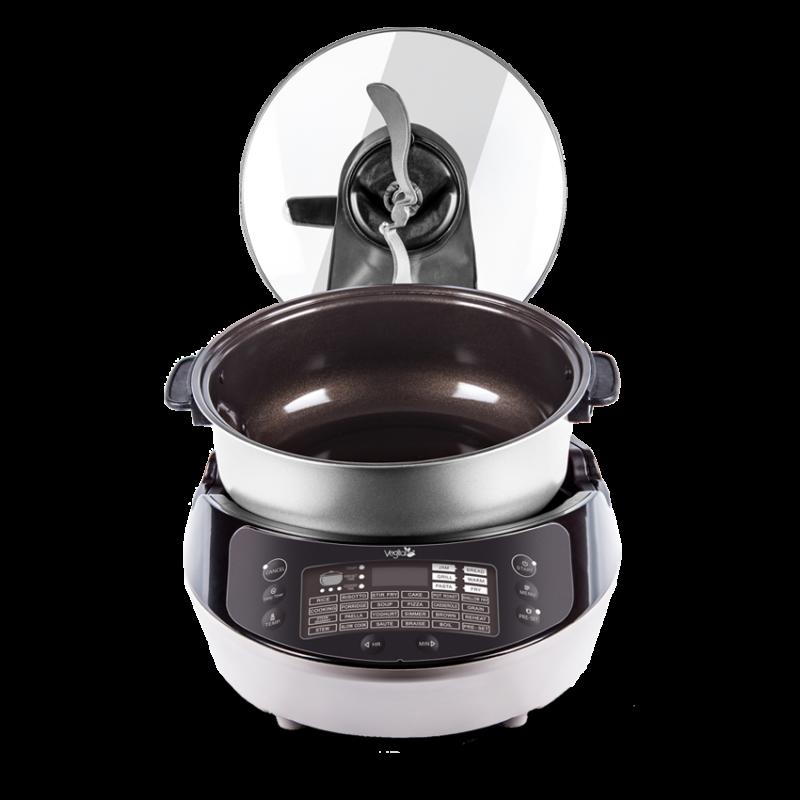 GIGA CSOMAG 2 -Silver digital & Barna fermentáló & Smart Chef