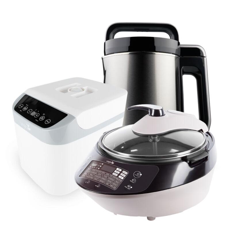 GIGA CSOMAG-Silver digital & Fehér fermentáló & Smart Chef