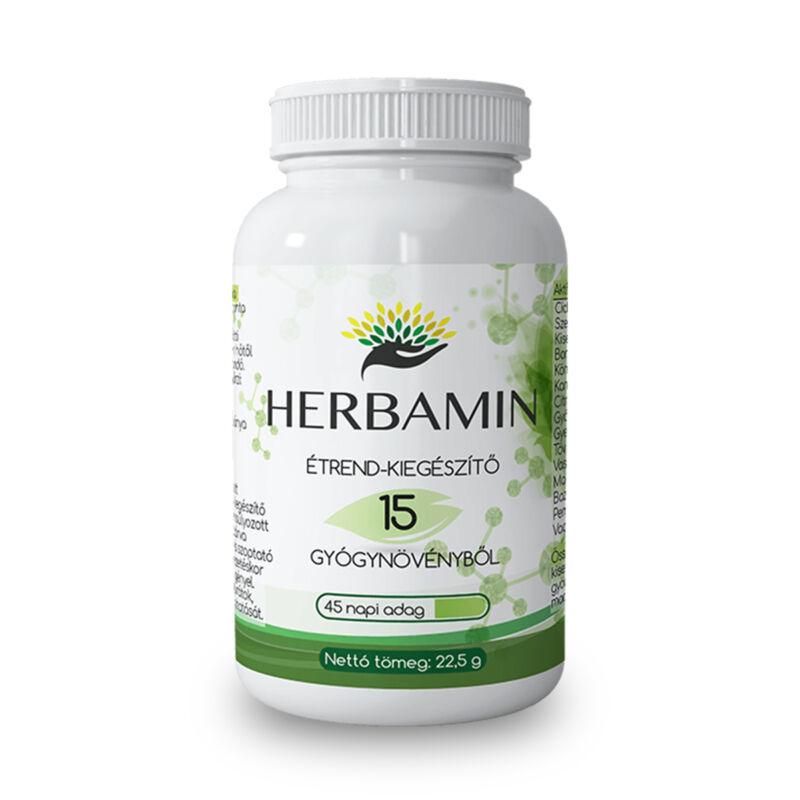 Herbamin kapszula 45 db-os