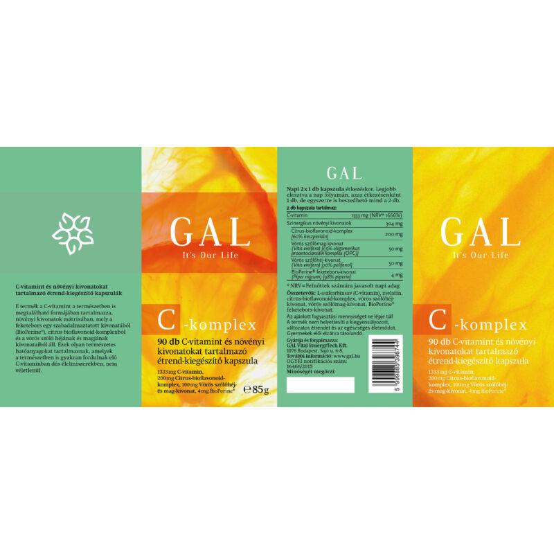 GAL- C-komplex 2456 mg x 90 kapszula