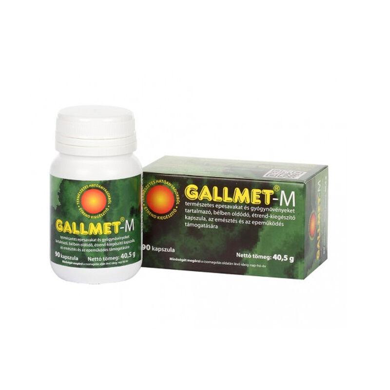 GALLMET-M * 90 db epesav és gyógynövény kapszula