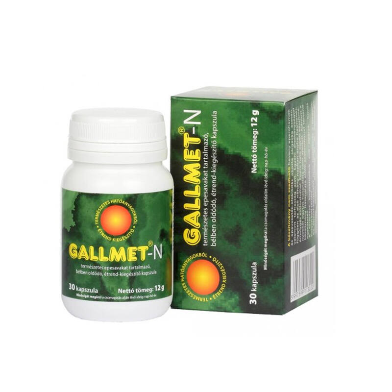 GALLMET-N * 60 db epesav kapszula