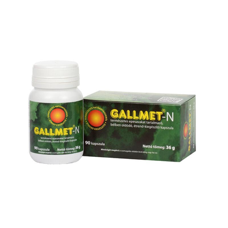 GALLMET-N * 90 db epesav kapszula