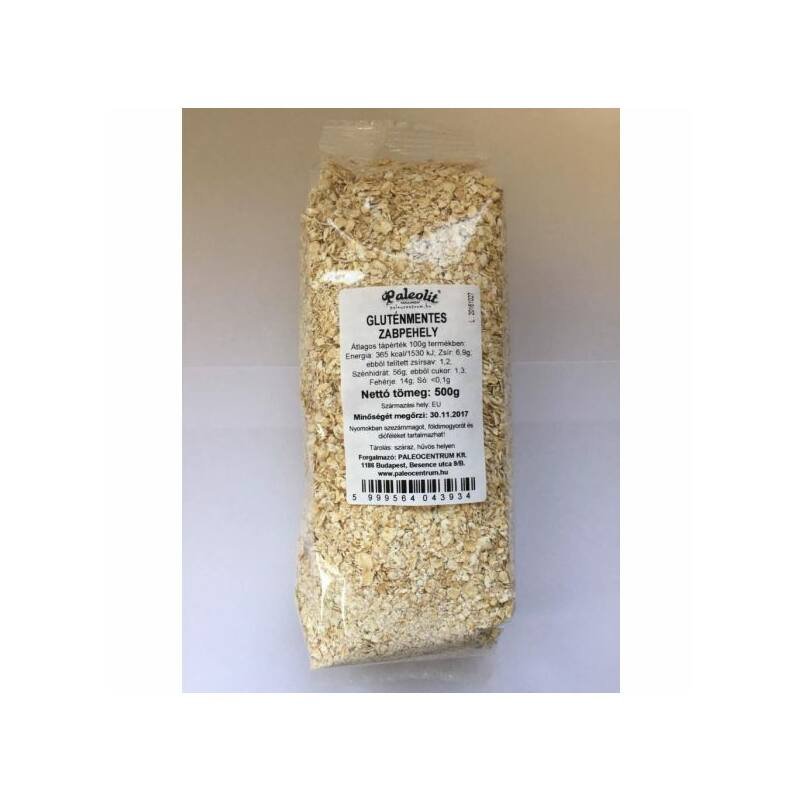Zabpehely, gluténmentes 500g (paleo)