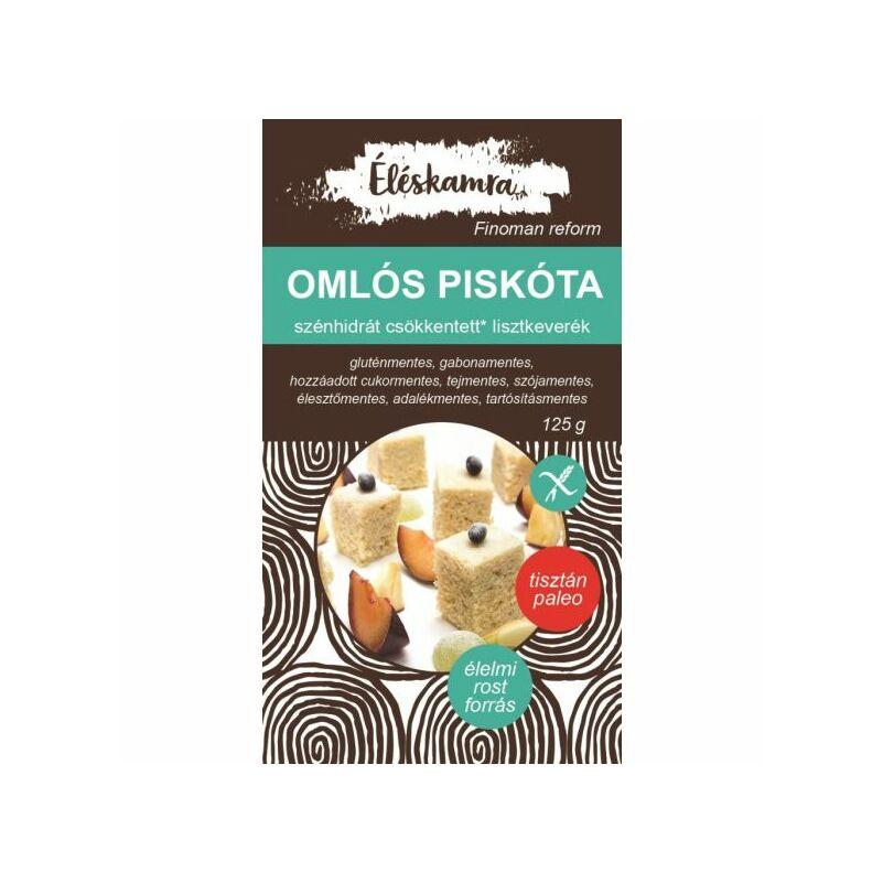 Omlós Piskóta lisztkeverék 125 g