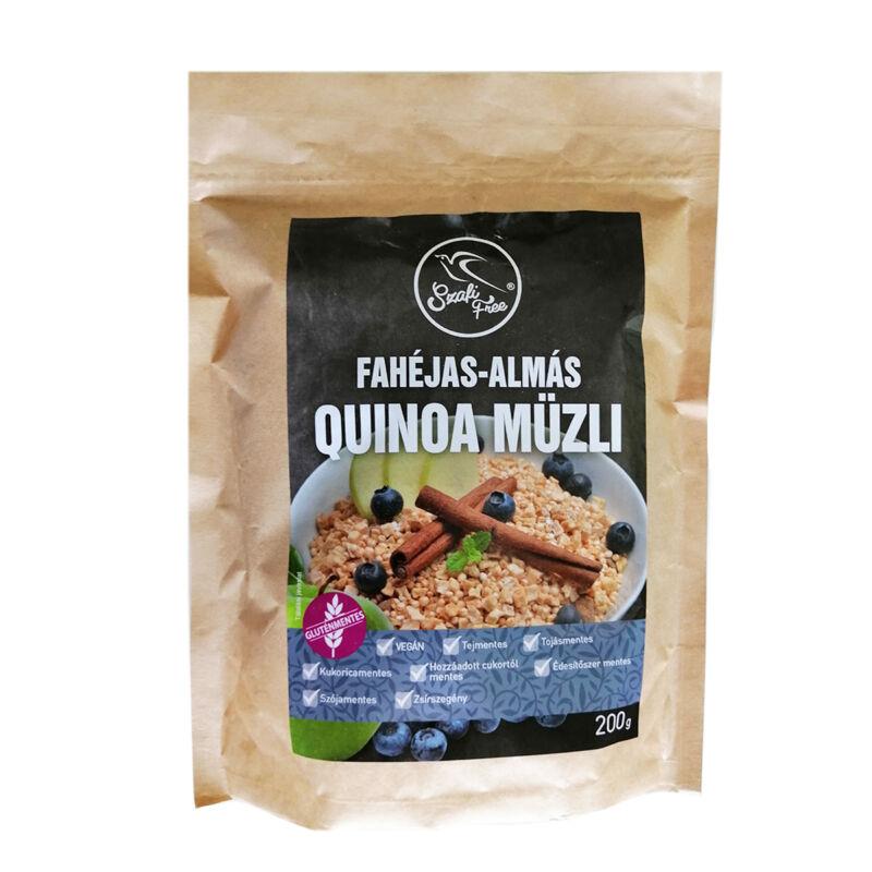 Szafi Fahéjas-almás Quinoa Müzli